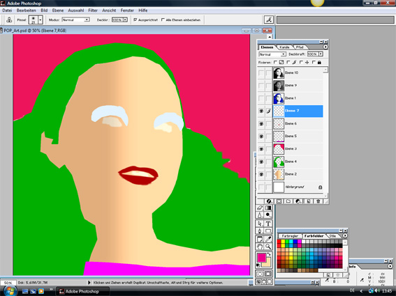 Tutorial Warhol Pop-Art 4