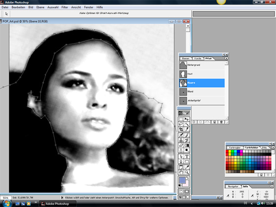 Tutorial Warhol pop-art 3
