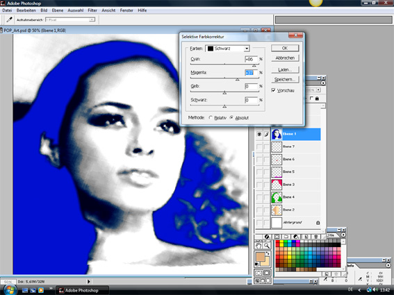 Tutorial Warhol Pop-Art 2