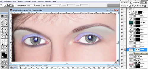 Make-up Tutorial Lidschatten
