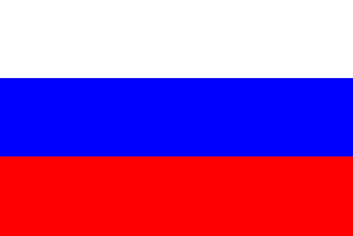 Russlandflagge fahne russland flagge fahne gewölbt saudi-arabien