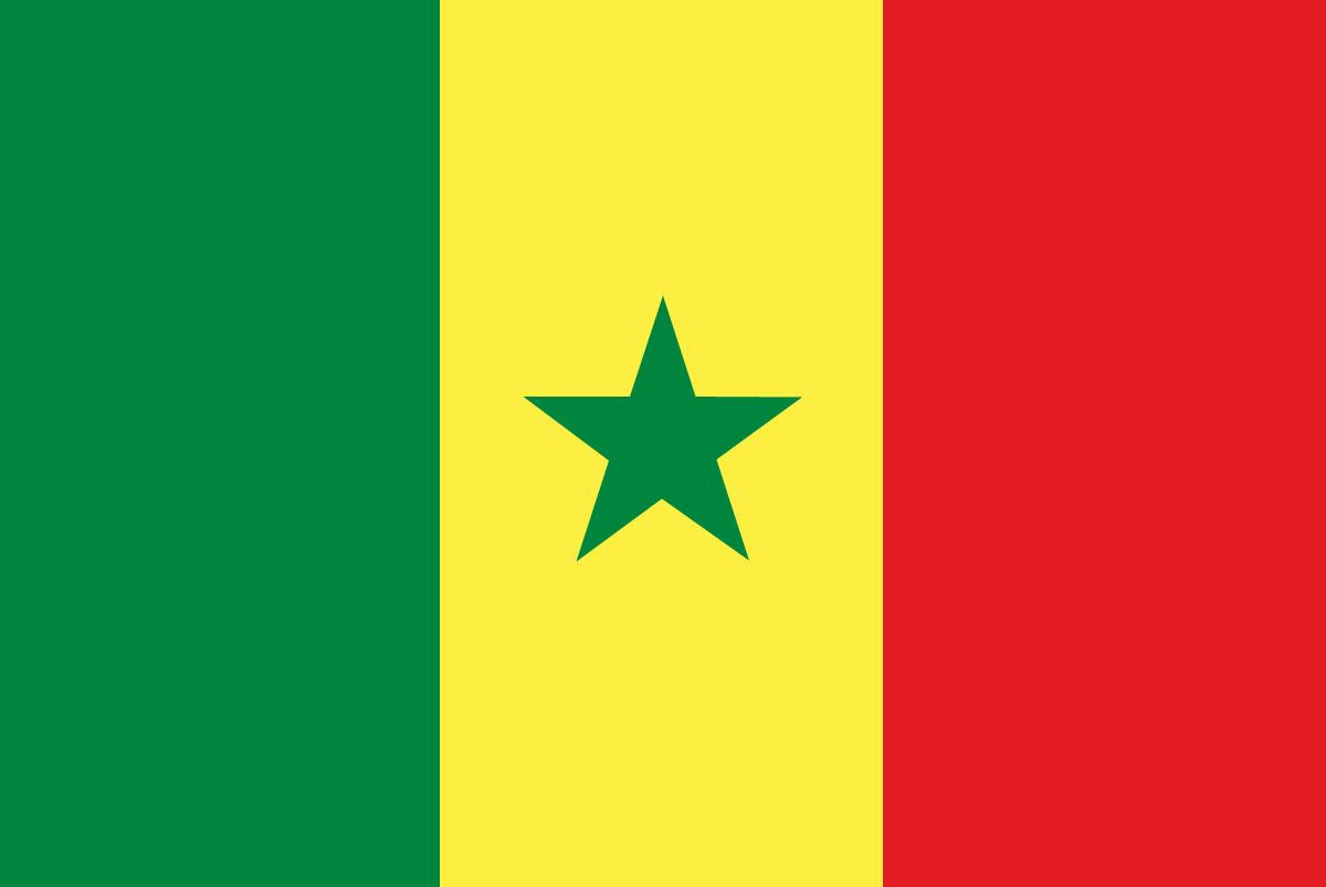 Flagge Senegal