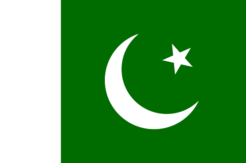 Flag Pakistan Islamic Republic