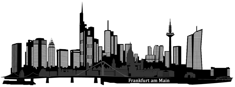 wandtattoo syline frankfurt pop art xxl wandsticker walltattoo. Black Bedroom Furniture Sets. Home Design Ideas