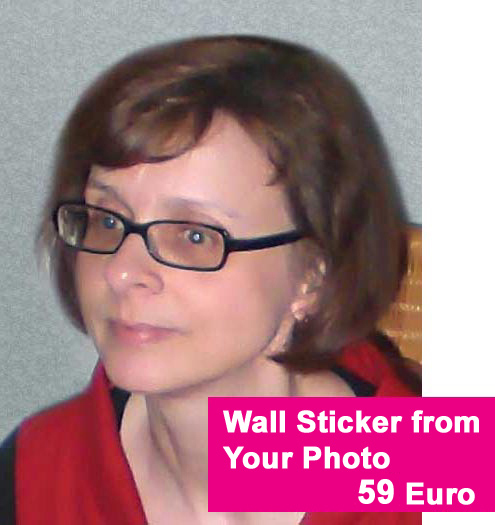 Wandtattoo from your own Photo Picture