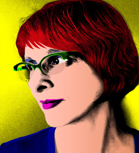 pop art portrait privat