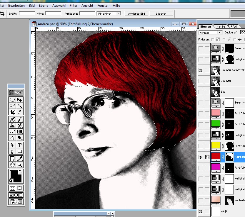 Warhol-Style Pop-Art Tutorial 3