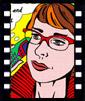 face2image_Wandtattoo von Ihrem Foto_Pop Art
